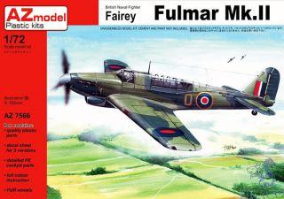 British Naval Fighter Fairey Fulmar Mk.II (ex Vista) 1/72 [AZmodel]
