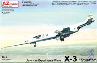 "American Experimental Plane X-3 ""Stiletto"" 1/72 [AZmodel]"