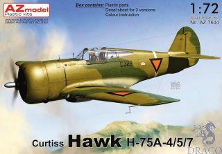 Curtiss Hawk H-75A-4/5/7 1/72 [AZmodel]
