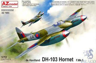 de Havilland DH-103 Hornet F.Mk.3 1/72 [AZmodel]