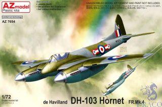 de Havilland DH-103 Hornet FR.Mk.4 1/72 [AZmodel]