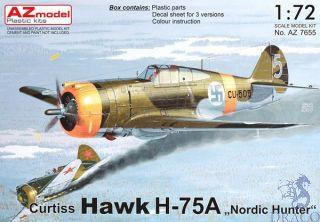 "Curtiss Hawk H-75A ""Nordic Hunter"" 1/72 [AZmodel]"
