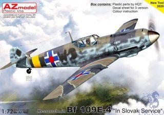 "Messerschmitt Bf 109E-4 ""In Slovak Service"" 1/72 [AZmodel]"