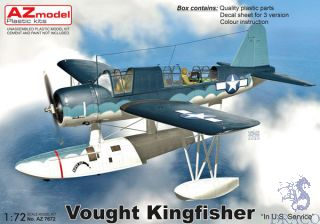 """Vought Kingfisher """"In U.S.Service"""" 1/72 [AZmodel]"""