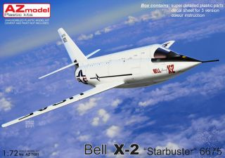 """Bell X-2 """"Starbuster"""" 6675 1/72 [AZmodel]"""