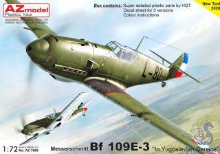 "Messerschmitt Bf 109E-3 ""In Yugoslavian Service"" 1/72 [AZmodel]"