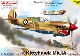 "Curtiss Kittihawk Mk.IA ""RAAF/SAAF"" 1/72 [AZmodel]"