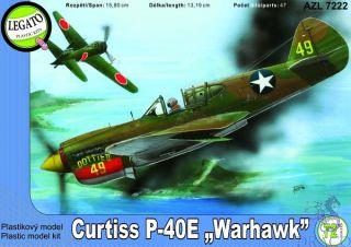 """Curtis P-40E """"Warhawk"""" 1/72 [AZmodel]"""