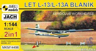 Let L-13/L-13A Blaník 1/144 [AZmodel]