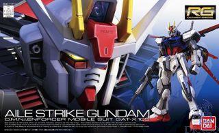AILE Strike Gundam O.M.N.I. Enforcer Mobile Suit GAT-X 105 1/144 [Bandai RG Gundam #03]