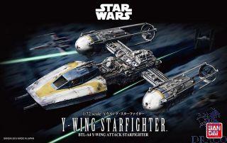 Y-Wing StarFighter 1/72 [Bandai Star Wars]