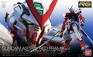 Astray Red Frame - Lowe Guele's Mobile Suit MBF-P02 1/144 [Bandai RG Gundam #19]
