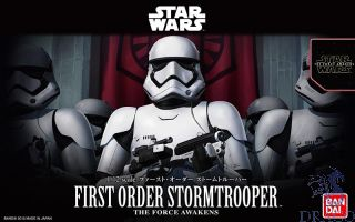 First Order Stormtrooper 1/12 [Bandai Star Wars - The Force Avakens]