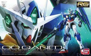 00 QAN[T] Celestial Being Mobile Suit GNT-0000 1/144 [Bandai RG Gundam #21]