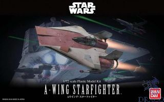 A-Wing Starfighter 1/72 [Bandai Star Wars]