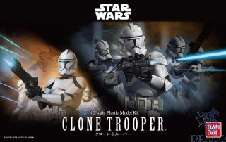 Clone Trooper 1/12 [Bandai Star Wars]