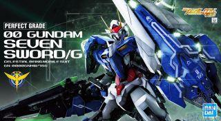00 Gundam Seven Sword/G Celestal Being Mobile Suit GN-0000GNHW/7SG 1/60 [Bandai PG Gundam]