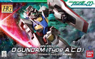 GN-000 0 Gundam (Type A.C.D.) 1/144 [Bandai HG00 Gundam #045]