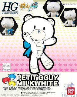 Petit'G Guy Milk White 1/144 [Bandai PGGuy #05]