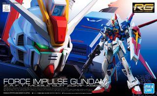 Force Impulse Gundam Z.A.F.T. Mobile Suit ZGMF-X56S/α 1/144 [Bandai RG Gundam #33]