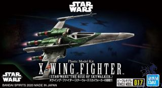 Bandai Vehicle Model: X-Wing Fighter (Star Wars: The Rise of Skywalker) 1/144