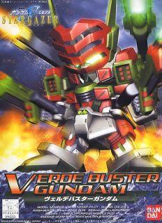 BB Warrior Verde Buster Gundam [Bandai BBSSG Gundam #294]