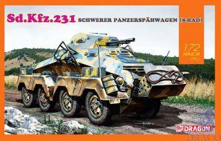 Sd.Kfz.231 Schwerer Panzerspähwagen (8-RAD) 1/72 [Dragon]