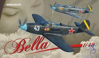 Bella - Bell P-39 Airacobra (Limited Edition) 1/48 [Eduard]