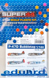 P-47D Bubbletop 1/144 [Eduard]