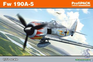 FW 190A-5 / reedition (ProfiPACK Edition) 1/72 [Eduard]