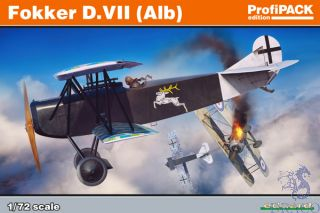 Fokker D. VII (Alb) (ProfiPACK Edition) 1/72 [Eduard]