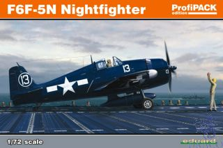 F6F-5N Nightfighter (ProfiPACK Edition) 1/72 [Eduard]