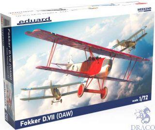 Fokker D. VII (OAW) (Weekend Edition) 1/72 [Eduard]