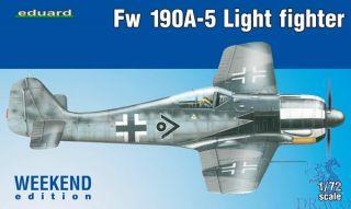 Fw 190A-5 Light Fighter (Weekend Edition) 1/72 [Eduard]