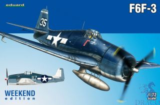 F6F-3 (Weekend Edition) 1/72 [Eduard]