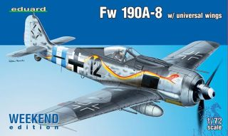 Fw 190A-8 w/ universal wings (Weekend Edition) 1/72 [Eduard]