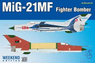 MiG-21MF Fighter Bomber (Weekend Edition) 1/72 [Eduard]