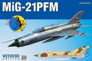 MiG-21PFM (Weekend Edition) 1/72 [Eduard]