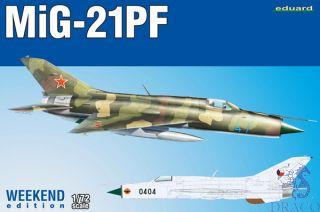 MiG-21PF (Weekend Edition) 1/72 [Eduard]