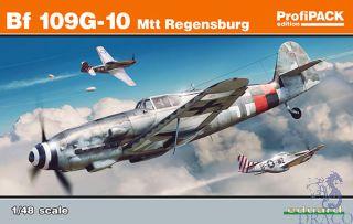 Bf 109G-10 Mtt Regensburg (ProfiPACK Edition) 1/48 [Eduard]