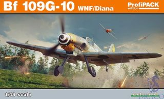 Bf 109G-10 WNF/Diana (ProfiPACK Edition) 1/48 [Eduard]