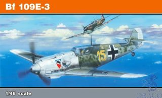 Bf 109E-3  (ProfiPACK Edition) 1/48 [Eduard]
