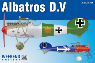 Albatros D.V (Weekend Edition) 1/48 [Eduard]