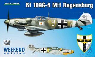 Bf 109G-6 MTT Regensburg (Weekend Edition) 1/48 [Eduard]