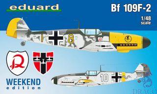 Bf 109F-2 (Weekend Edition) 1/48 [Eduard]