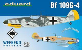 Bf 109G-4 (Weekend Edition) 1/48 [Eduard]