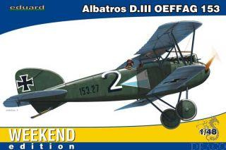 Albatros D. III OEFFAG 153 (Weekend Edition) 1/48 [Eduard]