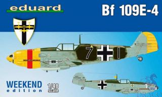 Bf 109E-4 (Weekend Edition) 1/48 [Eduard]