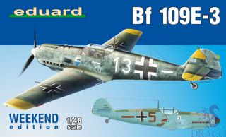 Bf 109E-3 (Weekend Edition) 1/48 [Eduard]