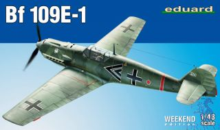 Bf 109E-1 (Weekend Edition) 1/48 [Eduard]